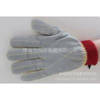 供应韩国可隆 Kevlar凯夫拉 芳纶防割三级贴牛皮手套 劳保手套
