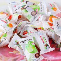 好利源脆皮软糖鲜乳球 糖果 结婚喜糖 可配口味 批发整箱10kg/箱