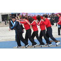 趣味运动会道具项目5人木质协力竞走-郑州心悦厂家青少年比赛器材