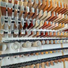 内蒙古展览厅金属铝方通天花吊顶 铝方通 木纹铝方通