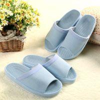 出口日本的原单 室内居家盆底拖鞋 空头夏季防滑吸汗布情侣棉拖子