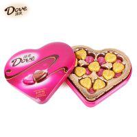Dove德芙巧克力 心形礼盒 心语98g心印 生日礼品礼物 进口巧克力