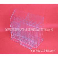 高档透明有机玻璃文件架制品  亚克力名片A4文件架加工批发定做
