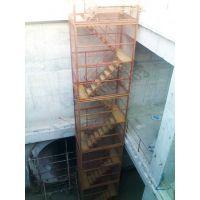 供应应施工专用安全防护爬梯FB1620下井梯笼可因场地需求而设计制作