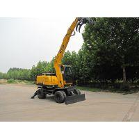 比铲车抓木机更实用的挖掘机抓木机