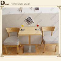 款式多样的餐厅木质餐桌 现代中式咖啡厅奶茶店桌子欧迪轩厂家直销