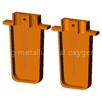 oxygen lance water-cooled copper box/ copper cooled panel