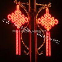 供应大量批发中国结外壳-亚克力外壳厂家-步行街装饰中国结-2米高中国结-LED亮化灯具
