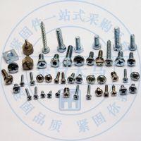 【低价直销批发】供应各槽型头型不锈钢螺丝,可非标定制材质尺寸