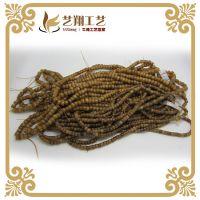 藏式diy饰品配件 旧老牛骨扣片桶珠 108佛珠念珠批发