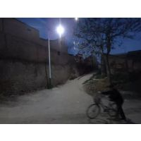 四川广元旺苍县供应新农村建设5米18w太阳能路灯太阳能路灯配件