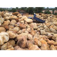 英德良好园林厂家批发黄腊石,销往海门园林黄腊石 草地点缀石材