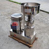 广州南洋140型分体胶体磨 花生酱食品研磨机 均质乳化机