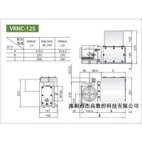 现货销售 台湾旭本四轴分度头SUA-125/170/210/250
