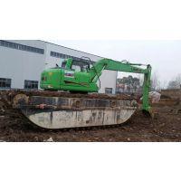 水陆两栖挖掘机租赁 水陆挖掘机出租 水上挖掘机改装