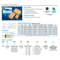 AVX钽电容授权一级代理