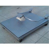 3t移动型地磅,SCS手推移动平台秤(三合)