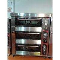 广州新南方三层九盘面包店专用电烤箱现货供应 YXD-90CT烤箱