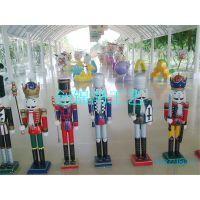 胡桃士兵系列造型玻璃钢卡通雕塑 商场公园景观装饰雕塑
