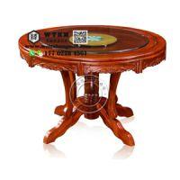 天津榆木长条桌 天津榆木圆形桌 天津榆木餐桌椅