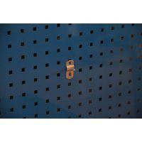 厂家供应钢质挂钩吊钩工具挂钩方孔挂板用斜挂钩直单挂钩DFG-1902