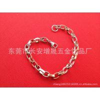 供应不锈钢手链 环保永不掉色不过敏 不锈钢方扣手链(图)