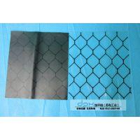 PVC加厚防静电网格帘 软玻璃透明网格帘 黑色防静电窗帘 0.5MM