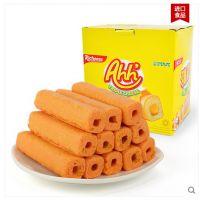 印尼进口零食richeese 纳宝帝 丽芝士雅嘉奶酪玉米棒威化饼干160g