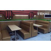 供应学勤卡座沙发,餐厅卡座沙发(XQ-k002)