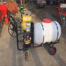 汽油喷雾器有四个轮子 润丰牌汽油高压喷雾器的轮距可以调节