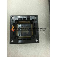 WELLS-CTI 680H1765111T IC插座QFP176PIN 0.4MM间距弹压式双触点
