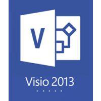 Microsoft Visio 2013 中文标准版 画图表软件