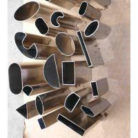 广东厂家供应江门304龙头不锈钢管 非标规格五金卫浴不锈钢圆管方管