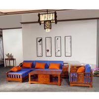 贵妃软体沙发刺猬紫檀名琢世家品牌
