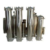 深圳水处理设备厂家纯水一号供应304/316不锈钢保安过滤器/精密过滤器
