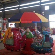 重庆豪华小型旋转木马电动玩具/心悦六座熊出没儿童旋转动物厂家