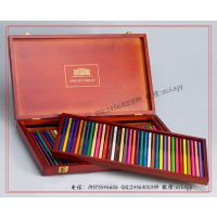 铅笔包装盒 画笔包装盒 化妆笔包装木盒 色彩笔礼品木盒厂家订做