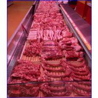 抚州鲜肉店冷藏展示柜 佳伯冷鲜肉柜定做价格 风冷敞口鲜肉保鲜柜