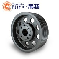 南京皮带轮采购spz400-06选无锡帛扬锥套皮带轮