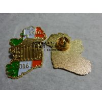 金银徽章定制 人物浮雕徽章 烤漆徽章生产厂家 金属徽章!