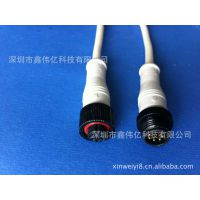 工厂直销质量保证裸铜线PVCXWY6.0防水插头连接线
