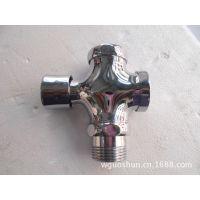 【温州水龙头】国顺厂家 生产批发 全铜拉丝 便池冲洗阀 gs-5821