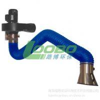 供应油脂加工厂油雾排放系统 壁挂式直排吸尘手臂