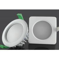 3.5寸/16瓦COB筒灯外壳套件新款LED天花灯外壳图片浴室防雾超亮款配件