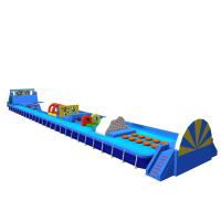 河南好奇乐厂家租赁水上大冲关移动水世界乐园支架水池充气游泳池设备