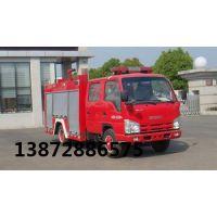 福田3吨水罐消防车价格13872886575