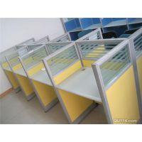 厂家定制公司用各种工位办公桌简约办公桌一对一培训桌
