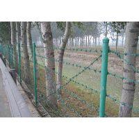 广州带刺铁丝围栏|圈山专用刺绳围栏|隔离防护刺铁丝网-言必诺金属制品有限公司
