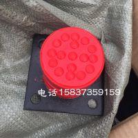行车货梯防撞块 200*160 亚重 JHQ-C-13带铁板缓冲器 卸船机缓冲装置