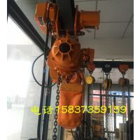 2t*4m单链运行式环链电动提升机,带跑车,上海沪工,环链电动葫芦
